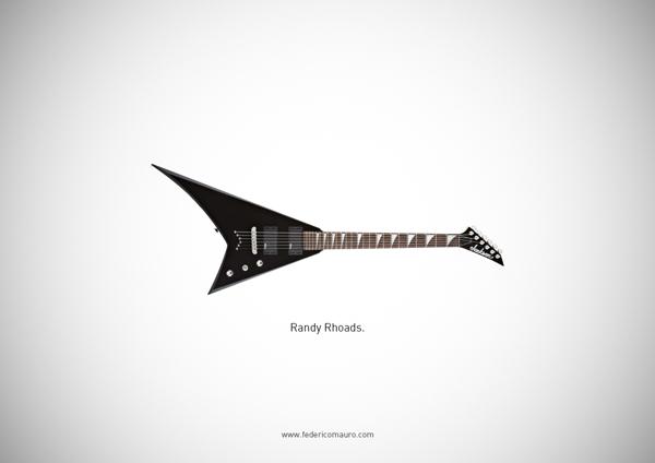 Famous guitars - federico mauro - Randy Roads