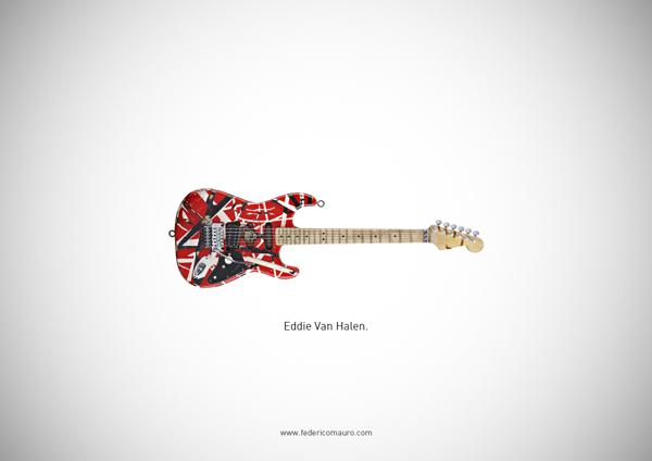Famous guitars - federico mauro - Van halen